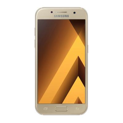 گوشی موبایل سامسونگ مدل Galaxy A3 2017 دو سیم کارت ظرفیت 16 گیگابایت (طلایی)