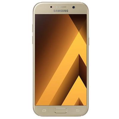 گوشی موبایل سامسونگ مدل Galaxy A5 2017 دو سیمکارت (طلایی)