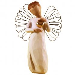 مجسمه امین کامپوزیت مدل فرشته یادگاری کد 69/1 (کرم)
