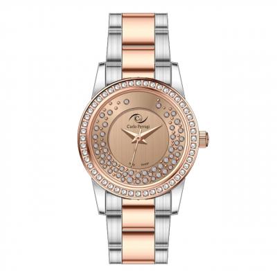 ساعت مچی عقربه ای زنانه کارلو پروجی مدل CG2031-1