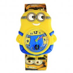 ساعت مچی عقربه ای بچگانه مدل مینیون