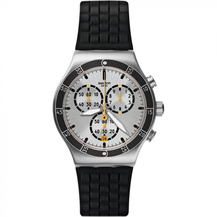 ساعت مچی عقربه ای مردانه سواچ مدل YVS420