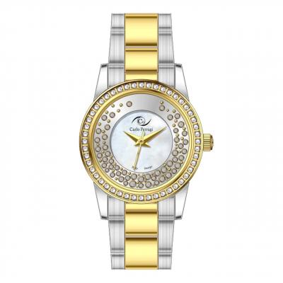 ساعت مچی عقربه ای زنانه کارلو پروجی مدل CG2031-2