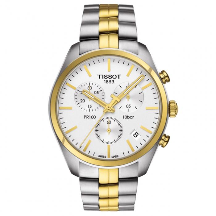 ساعت مچی عقربه ای مردانه تیسوت مدل PR 100 T101.417.22.031.00