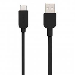 کابل تبدیل USB به microUSB سونی مدل CP-AB300 طول 3 متر (مشکی)