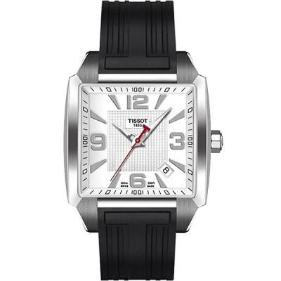 ساعت مچی عقربه ای مردانه تیسوت مدل Quadrato T005.510.17.277.00