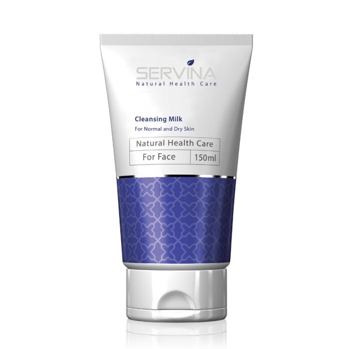 لوسیون پاک کننده آرایش صورت سروینا مخصوص پوست خشک و معمولی