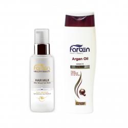 پک 2 عددی زیبایی و سلامت فاربن مخصوص آبرسانی و مراقبت از موهای خشک