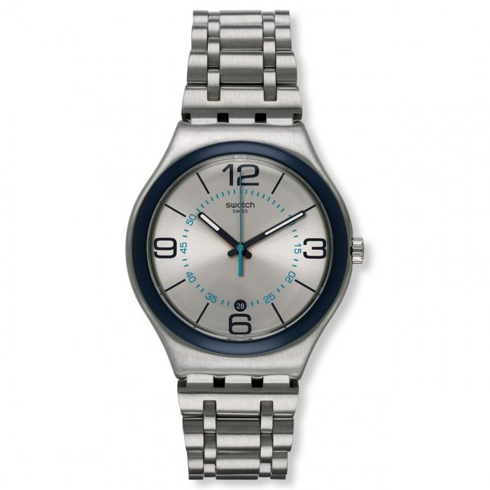 ساعت مچی عقربه ای مردانه سواچ مدل YWS413G