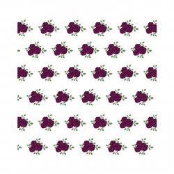 استیکر دیواری سالسو طرح Purple Roses