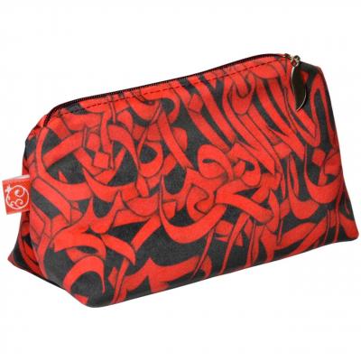 کیف لوازم آرایشی انارچاپ کد CB018