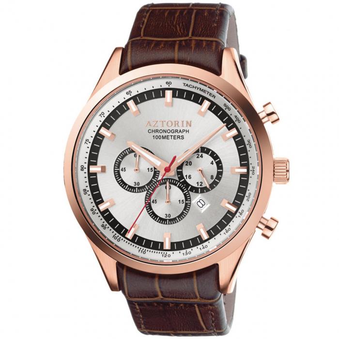 ساعت مچی عقربه ای مردانه ازتورین مدل A047.G200