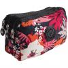 کیف لوازم آرایشی واته مدل سه زیپ طرح دار 10