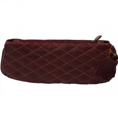 کیف لوازم آرایش کهن چرم مدل A3-1