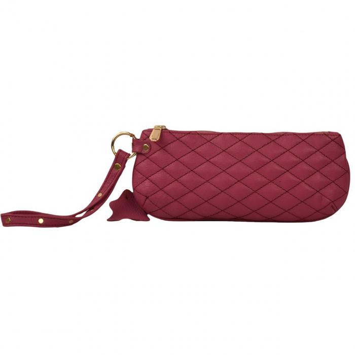 کیف لوازم آرایش کهن چرم مدل A5-10