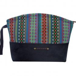 کیف آرایشی پارچه ای زنانه زمانی مدل 502