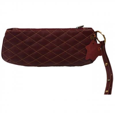 کیف لوازم آرایش کهن چرم مدل A5-7