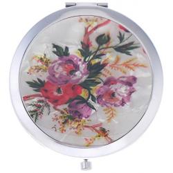 آینه جیبی جویل طرح گل سرخ کد GM1404