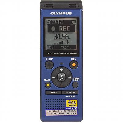 ضبط کننده دیجیتالی صدا الیمپوس مدل WS-806PC به همراه ایرفون استریو