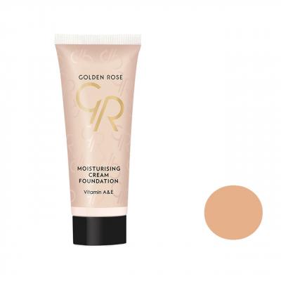 کرم پودر گلدن رز مدل Moisturizing Cream شماره 10 (بی رنگ)