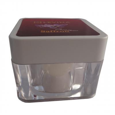 کرم ضد چروک زعفران لوینا حجم 50 میلی لیتر (بی رنگ)