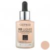 کرم پودر کاتریس سری HD مدل Liquid Coverage شماره 010