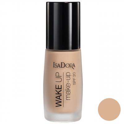 کرم پودر ایزادورا سری Wake Up Make-Up مدل Warm Beige شماره 04