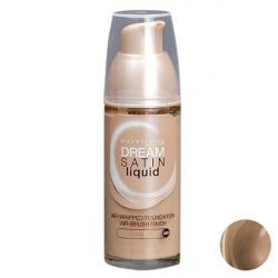 کرم پودر میبلین مدل Dream Satin Liquid Cannelle شماره 40 حجم 30 میلی لیتر