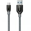 کابل تبدیل USB-C به USB 3.0 انکر مدل A8168 PowerLine Plus طول 0.9 متر