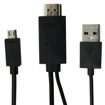 کابل تبدیل MHL به HDMI به طول 1.8 متر