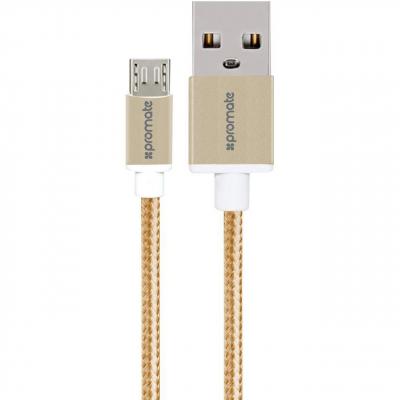 کابل تبدیل USB به microUSB پرومیت مدل linkMate-U2M طول 1.2 متر