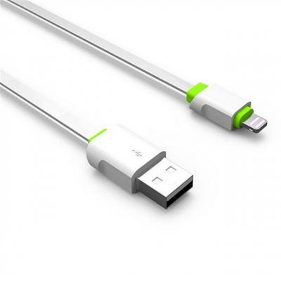 کابل تبدیل USB به لایتنینگ الدینیو مدل LS01 به طول 2 متر (سفید)