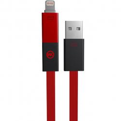 کابل تبدیل USB به microUSB و لایتنینگ دبلیو کی مدل Phantom به طول 1 متر
