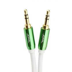 کابل انتقال صدای 3.5 میلی متری جی سی پال مدل AUX Audio Stereo به طول 1.5 متر