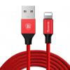 کابل تبدیل USB به لایتنینگ باسئوس مدل Yiven طول 1.8 متر