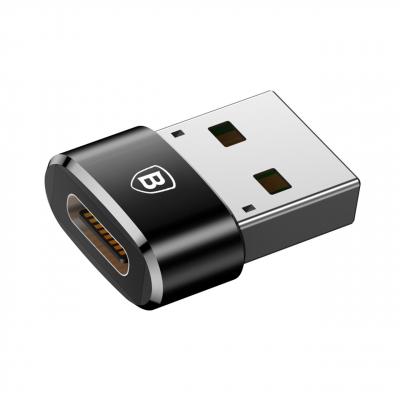 مبدل Type-C به USB باسئوس مدل CAAOTG-01 (مشکی)