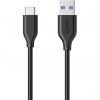 کابل تبدیل USB 3.0 به USB-C انکر مدل A8163 PowerLine طول 0.9 متر