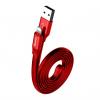 کابل تبدیل ۲ کاره USB به لایتنینگ و microUSB باسئوس مدل Two In One به طول 1.2 متر