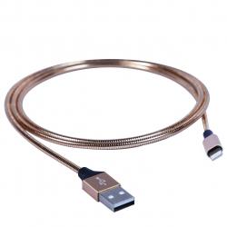 کابل تبدیل USB به لایتنینگ باسئوس مدل Mechanical Era Metal CALIS به طول 1 متر