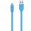 کابل تبدیل USB به microUSB هوکو مدل X5 Bamboo طول 1 متر