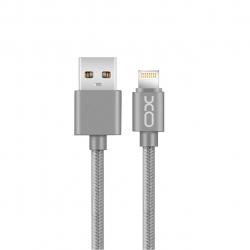 کابل تبدیل USB به لایتنینگ ایکس او مدل NB1 به طول 1 متر