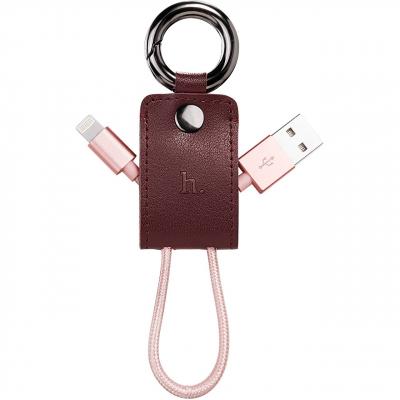 کابل تبدیل USB به لایتنینگ هوکو مدل UPL19 Key Chain به طول 0.15 متر