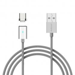 کابل تبدیل USB به USB-C دودوکول مدل DA125 مگنتی به طول 1.2 متر