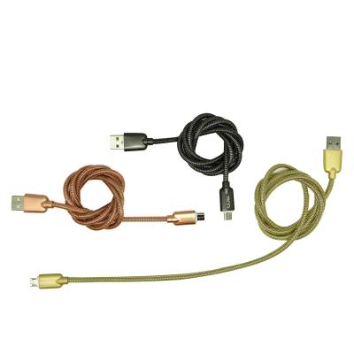 کابل تبدیل USB به microUSB تسکو مدل TC73 طول 1 متر (رزگلد)