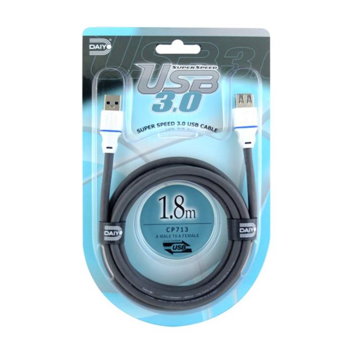کابل افزایش طول USB 3.0 دایو با اندازه 1.8 متر مدل CP713