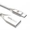 کابل تبدیل USB به Type-C توتو مدل Zinc Alloy به طول 1 متر