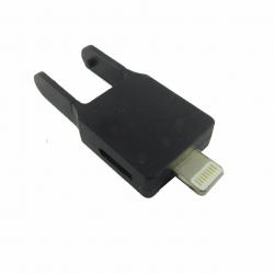 مبدل کانکتور micro USB به لایتینگ مدل Ke-micli