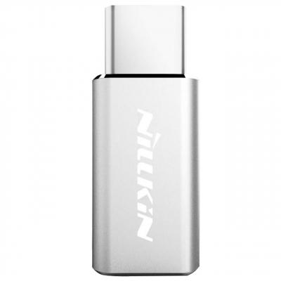 مبدل Micro USB به USB Type-C نیلکین (طلایی)