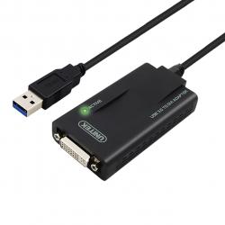 مبدل USB به DVI/VGA یونیتک مدل Y-3801