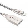 کابل تبدیل USB به Lightning توتو مدل Zinc Alloy به طول 1 متر